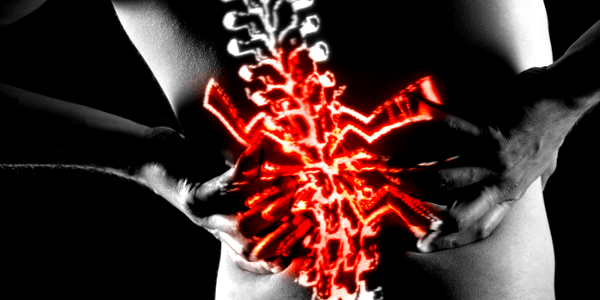 Targeting the spinal cord can reduce pain signals sent to the brain (Photo: chalmerswellness.com)
