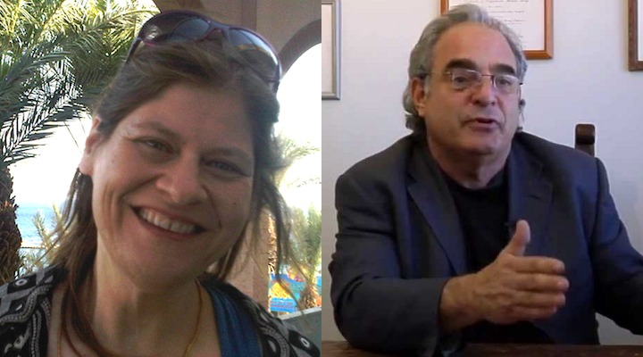 Mimi Peleg and Dr. Allan Frankel are two of many researchers working with cannabis in Israel