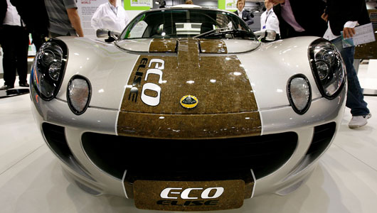 The Lotus Eco Elise is the eco-friendly hemp version of the popular Elise sports car