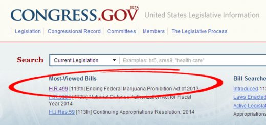 Screenshot of Congress.gov front page on 12/23