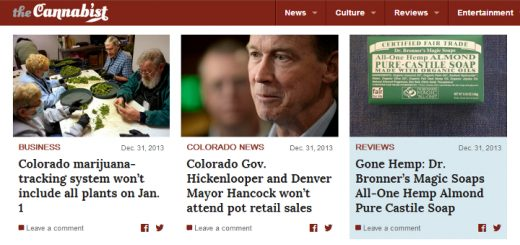 Denver Post Launches New Website Dedicated To Cannabis