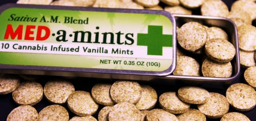 These mints by Dixie Elixirs contain 10mg of THC each (Photo: Dixie Elixirs/Facebook)