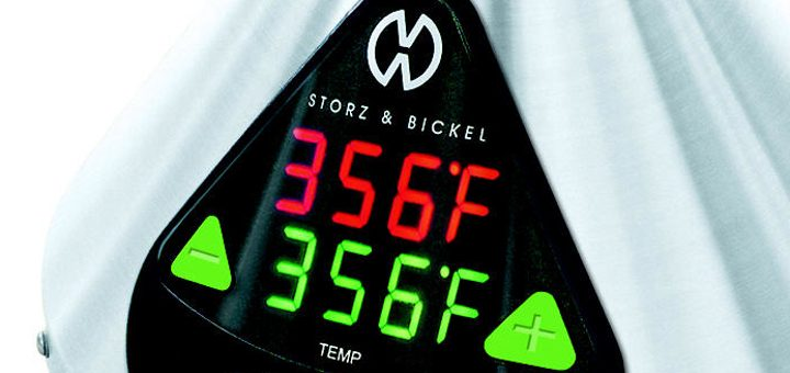 Many vaporizers allow precise temperature control including the Volcano Digit by Storz & Bickel (pictured).