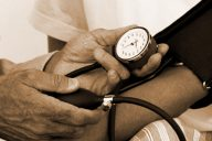 High blood pressure is one of five risk factors found in people with metabolic syndrome (Photo: Wikimedia Commons)