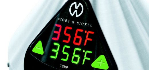 Many marijuana vaporizers such as the Volcano by Storz & Bickel (pictured) offer precise temperature control.