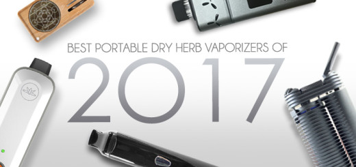Best Portable Dry Herb Vaporizers of 2017