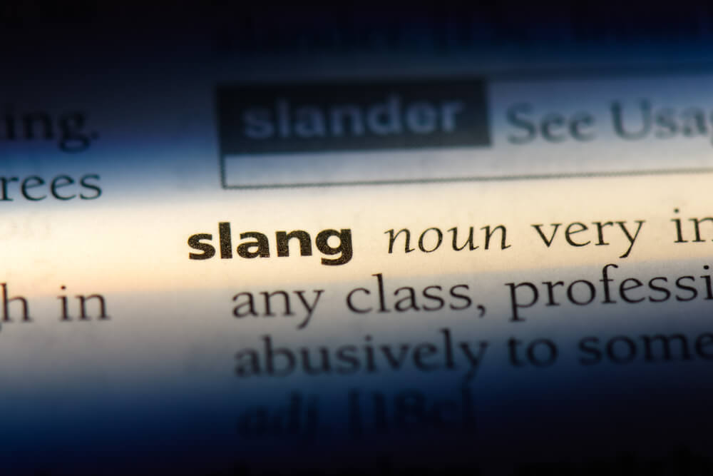 Marijuana slang words