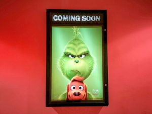 Benedict Cumberbatch reprised the role as The Grinch in 2018