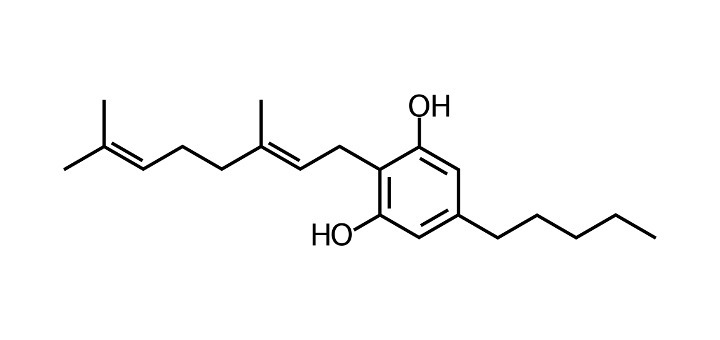 CBG chemical structure - LeafScience
